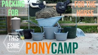 Packing For Pony Club Camp   For The Horse | This Esme