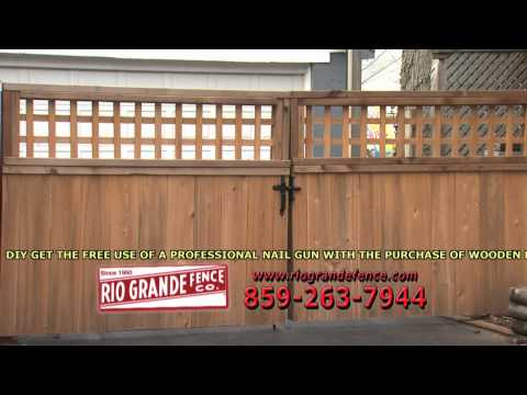 Rio Grande Fence :15 second commercial 10/13/1