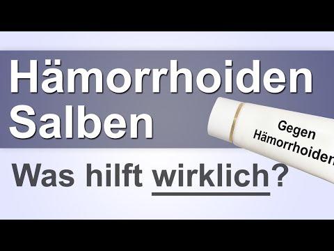 Hämorrhoiden Salbe | Hämoridensalbe | Cremes gegen Hämoriden