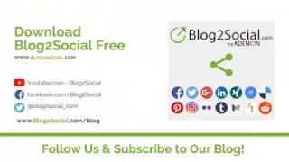 Videos zu Blog2Social
