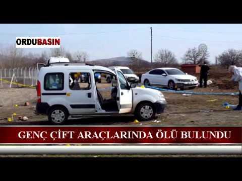 Amasya'da genç çift otomobilde ölü bulundu