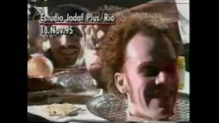 """Titãs - Making Of do Clipe """"Eu Não Aguento""""  na MTV em 1995"""