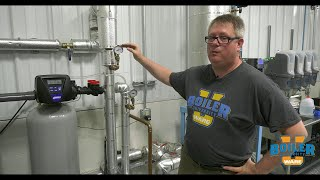 Monitoring the Boiler Room Water Pressure