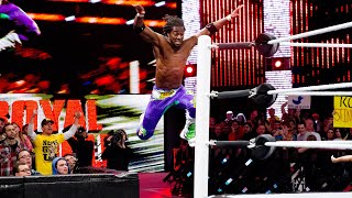 Kofi Kingston's unbelievable Royal Rumble Match saves: WWE Playlist
