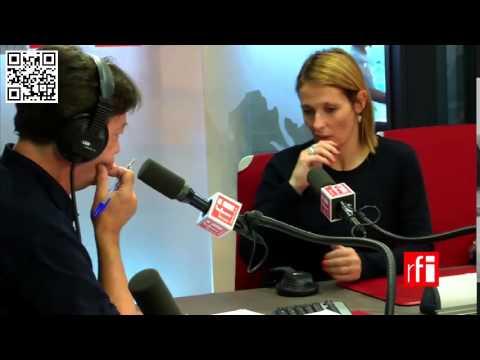 Mariana Zaffaroni Islas en RFI con Jordi Batallé