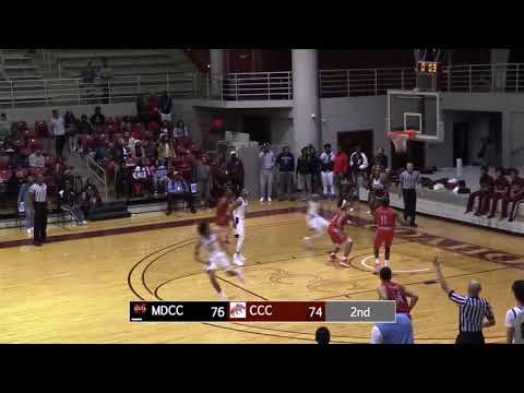 Malik Bailey Game Winner (Coahoma CC 77-Miss Delta CC 76)