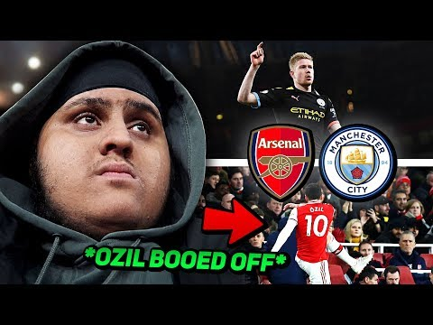 ARSENAL vs MAN CITY 0-3 | OZIL BOOED OFF & KEVIN DE BRUYNE EMBARRASSES ARSENAL (Matchday Vlog)