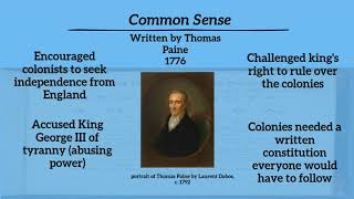 civics360 ss.7.c.1.2 influential documents: mayflower compact and common sense