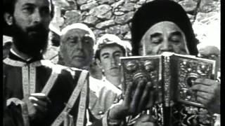 Ο Άγγελος Κατακουζηνός εγκαινιάζει το Μουσείο Θεόφιλου στη Λέσβο, 1965
