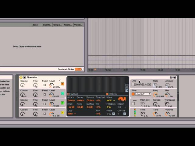 Ableton Live - Tutorial 11 : Síntesis