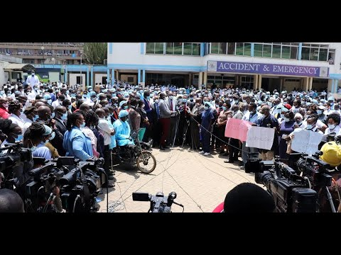 KNH services grind to a halt as 5,000 workers strike