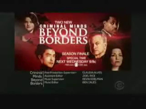 Criminal Minds: Beyond Borders 2.12-2.13 (Preview)