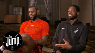 LeBron James and Dwyane Wade exclusive interview with Rachel Nichols | The Jump | ESPN