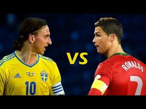 Zlatan vs Cristiano Gol de Chilena Cual Prefieres ? ♥