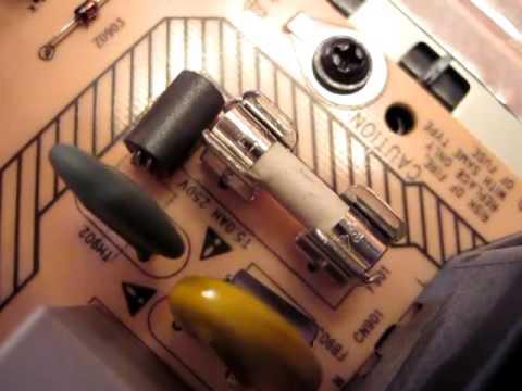 ремонт телевизора филипс philips pfl3605 не включается замена предохранителя своими силами