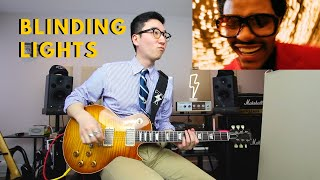 Blinding Lights - The Weeknd on guitar (Full cover).