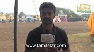 Vinod Kishan at Papparappaam Team at Clean India