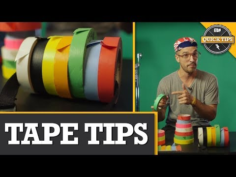 Use Tape like a Pro On-Set | From Justin Roberts at Film Riot | Top tips from a professional AC