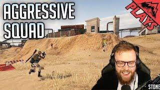 AGGRESSIVE SQUAD - PlayerUnknown