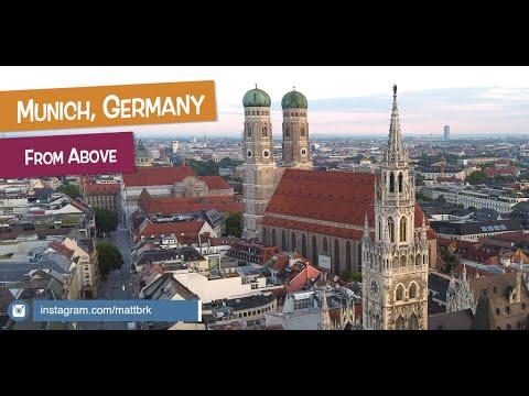 Stunning Aerial Drone Footage - Munich, Germany 2020 | DJI MAVIC MINI 2.7k