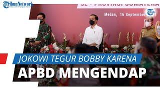 Temukan Dana APBD Rp1,8 T Mengendap di Bank, Presiden Joko Widodo Tegur Bobby Nasution