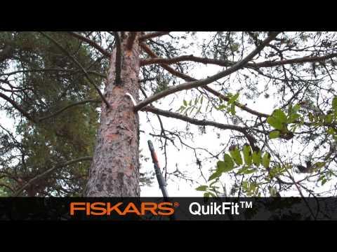 Fiskars Quikfit Grensag - film på YouTube