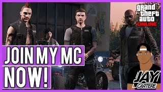How To Join My MC/Biker Club In GTA Online on PS4