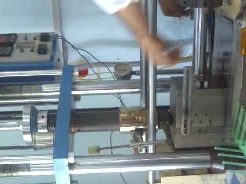 Semi Auto Hydraulic Injection Machine