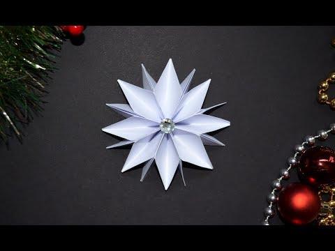 Basteln Weihnachten Sterne Basteln Mit Papier Weihnachtsdeko