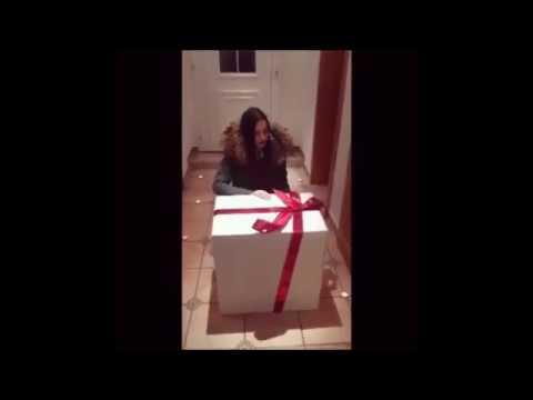 Шикарный подарок для девушки на День рождения, сюрприз