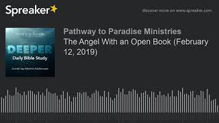 The Angel With an Open Book (February 12, 2019)