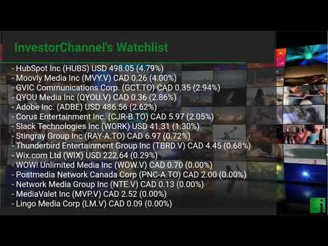 InvestorChannel's Media Watchlist Update for Friday, May,  ... Thumbnail