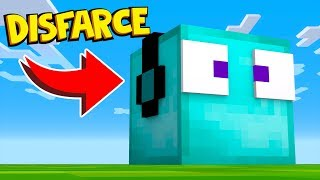 ESCONDE-ESCONDE COM DISFARCE DE BLOCOS DE DIAMANTE !! - Minecraft