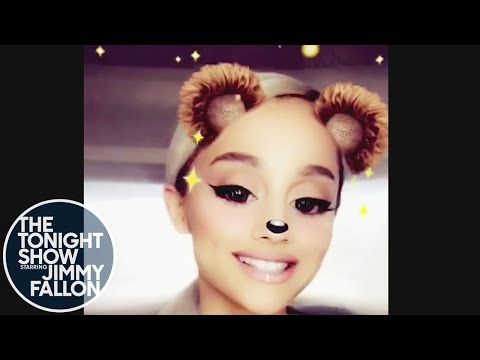Jimmy Announces Ariana Grande Appearance with