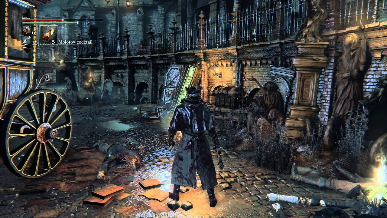 Here, Have An Hour's Worth Of Bloodborne Gameplay Footage