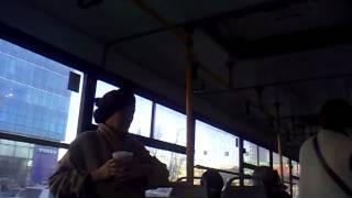Бабушка в автобусе и мышь кондуктор