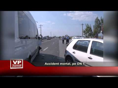 Accident mortal, pe DN 1