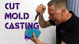 How to cast with a cut mold