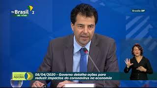Ministério da Economia e representantes do governo detalham regras de saque do FGTS. Ação integra medidas para conter os danos causados pelo #coronavírus no Brasil.
