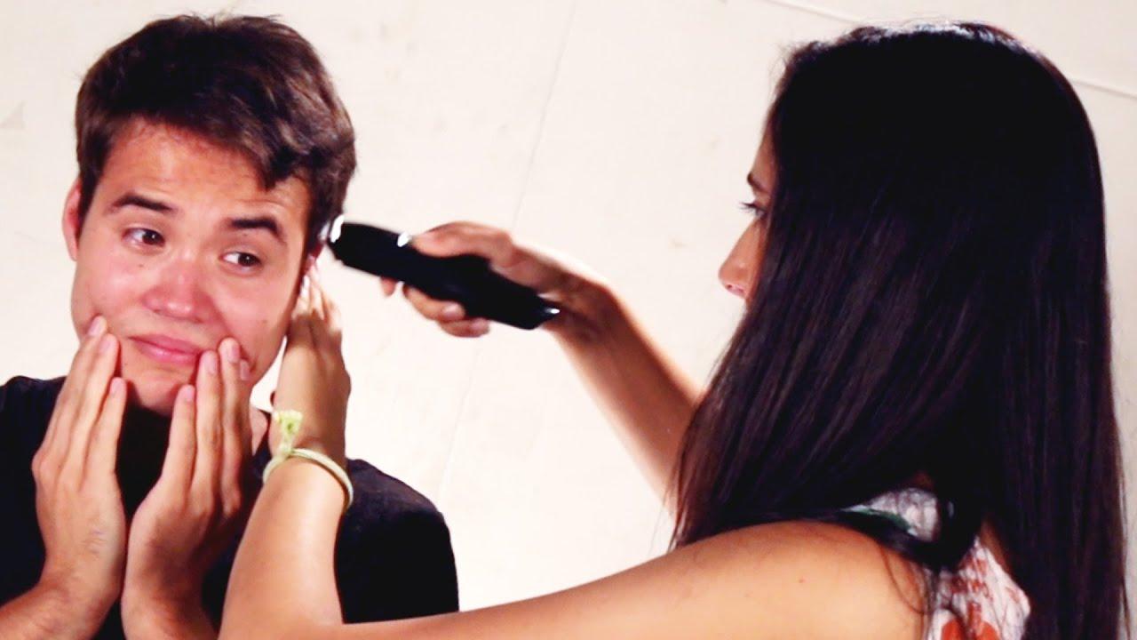 Girlfriends Cut Their Boyfriends' Hair thumbnail