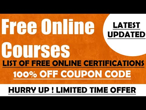 List of Free Certification Courses   Free Online Certificates   Limited ...