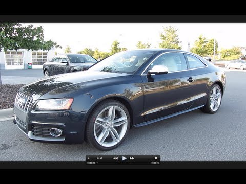 2012 Audi S5 V8 6-spd In-Depth Review