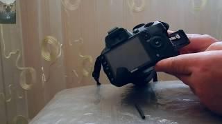 Устраняем люфт крышки отсека карты памяти фотоаппарата NIKON D3100.