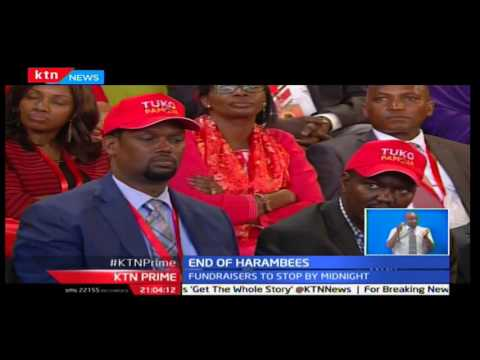 KTN Prime: Stern warning against any aspirant taking part in Harambees way before official campaigns