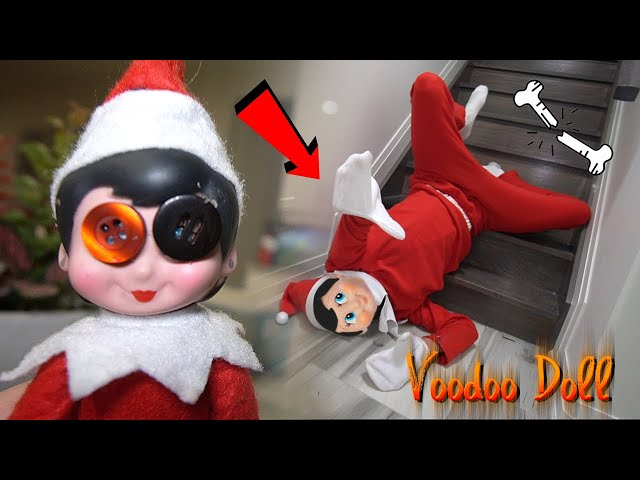 DO NOT MAKE ELF ON THE SHELF VOODOO DOLL AT 3 AM CHALLENGE!! (IT WORKED!!)