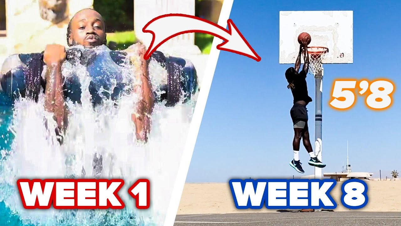 """5'8"""" Guy Learns To Dunk With NBA Training thumbnail"""
