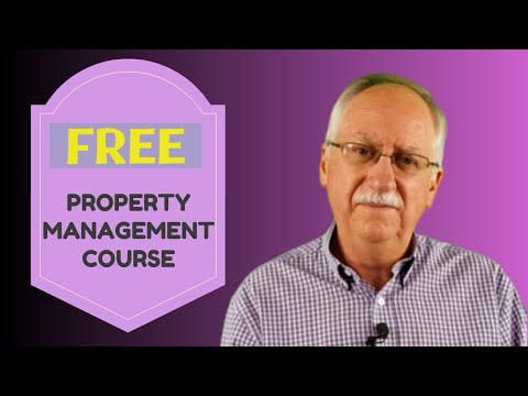 FREE Training Course for Property Management For Property ...