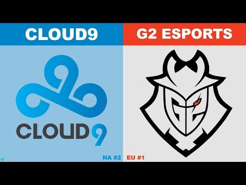 C9 vs G2 - Worlds 2019 Group Stage Day 6 - Cloud9 vs G2 Esports