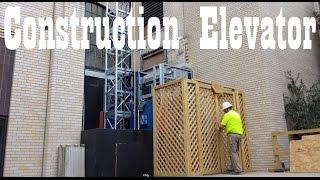 Fraco SEH650 Construction Hoist Climbing Elevator in Richmond VA