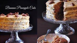 Super Delicious Cake || ബനാന പൈനാപ്പിൾ കേക്ക് || Recipe in Malayalam Ep #62